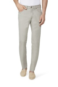 Gardeur Nevio-13 Sun Faded Cotton Pants Mid Grey