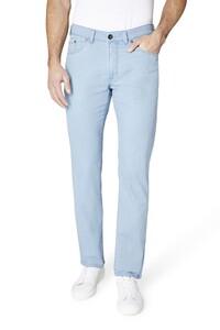 Gardeur Nevio-8 Cotton Elastane Broek Licht Blauw
