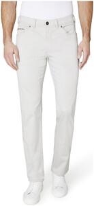 Gardeur Nevio Regular-Fit Summer 5-Pocket Broek Kitt