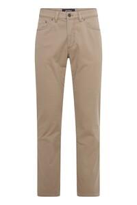 Gardeur Nevio-TH Uni Cotton Broek Camel