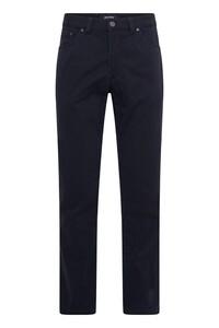 Gardeur Nevio-TH Uni Cotton Broek Marine