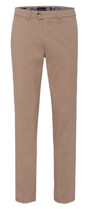 Gardeur Nils Regular Fit Flat-Front Broek Beige