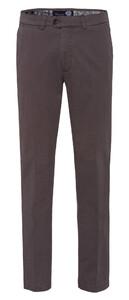 Gardeur Nils Regular Fit Flat-Front Pants Mid Grey