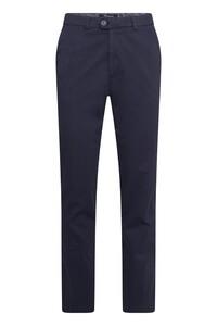 Gardeur Nils Uni Cotton Broek Donker Blauw