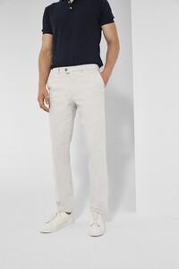 Gardeur Nils Uni Cotton Pants Light Grey