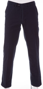 Gardeur Pima Cotton Stretch Broek Navy