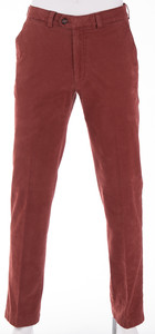 Gardeur Pima Cotton Stretch Pants Terracotta