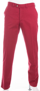 Gardeur Pimacotton Stretch Pants Dark Red Melange