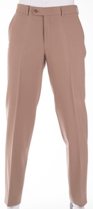 Gardeur Regular Fit Clima Wool Dun Broek Beige