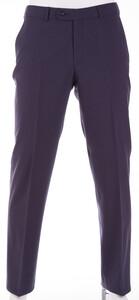 Gardeur Regular Fit Clima Wool Dun Broek Midden Blauw