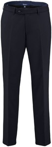 Gardeur Regular Fit Clima Wool Dun Broek Navy