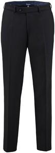 Gardeur Regular Fit Clima Wool Dun Broek Zwart