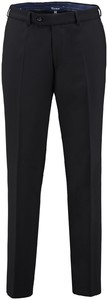 Gardeur Regular Fit Clima Wool Dun Pants Black