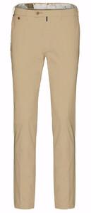 Gardeur Sem-1 Slim-Fit Flat-Front Broek Taupe