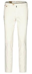 Gardeur Sem-1 Slim-Fit Flat-Front Pants Ivory