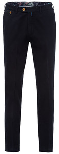 Gardeur Sem-1 Slim-Fit Flat-Front Pants Navy