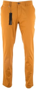 Gardeur Seven Slim-Fit Iconic Khakis Broek Geel