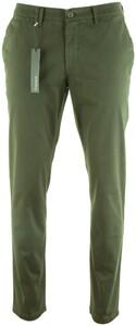 Gardeur Seven Slim-Fit Iconic Khakis Broek Groen