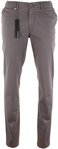Gardeur Seven Slim-Fit Iconic Khakis Broek Midden Grijs