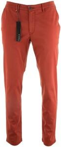Gardeur Seven Slim-Fit Iconic Khakis Broek Rood
