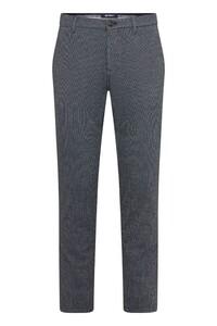 Gardeur Sonny-14 Fine Check Pants Dark Evening Blue