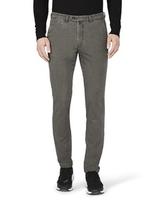 Gardeur Sonny-8 Slim-Fit Structure Pants Anthracite Grey