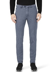 Gardeur Sonny-8 Slim-Fit Structure Pants Indigo