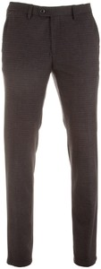 Gardeur Sonny-8 Warm Colored Check Pants Multicolor