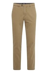 Gardeur Sonny Knit Look Structure Smart Casual Pants Ocher