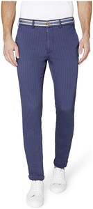Gardeur Sonny Stripe Slim Fit Pants Indigo