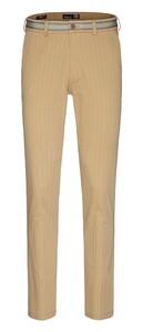 Gardeur Sonny Stripe Slim Fit Pants Light Brown