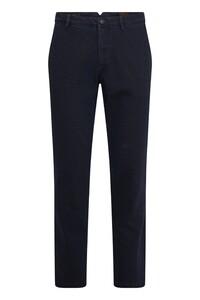 Gardeur Subway Fine Structure Pattern Jeans Dark Denim Blue