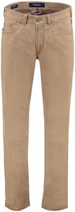 Gardeur Summer Stretch Modern-Fit Structured 5-Pocket Broek Beige
