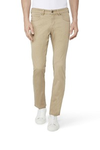 Gardeur Two-Tone Bill-3 Comfort Stretch Broek Zand