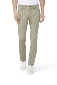 Gardeur Two-Tone Bill-3 Comfort Stretch Pants Stone