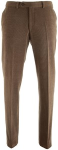 Gardeur Wollen Ribbroek Corduroy Trouser Mid Brown