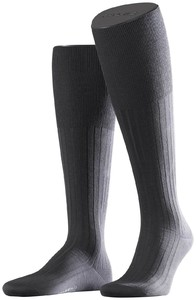 Falke No. 13 Finest Piuma Cotton Knee High Stone Grey