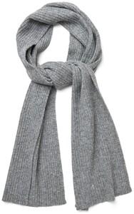 Gant Wool Knit Scarf Dark Grey Melange