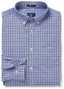 Gant The Oxford 3 Color Gingham Muscadine Grape