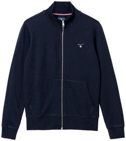 Gant Gant Original Full Zip Cardigan Avond Blauw