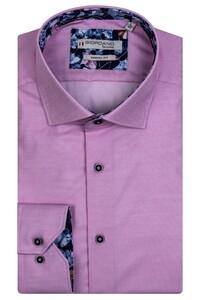 Giordano Baggio Cutaway Luxury Soft Fine Twill Overhemd Licht Roze