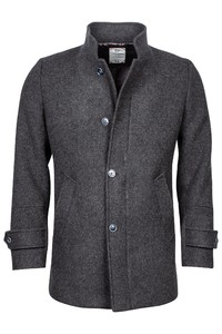 Giordano Brian Wool Mix Solid Doubleface Jas Anthra