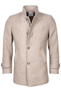 Giordano Brian Wool Mix Solid Doubleface Jas Beige