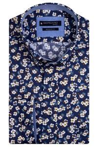 Giordano Kennedy Flower Fantasy Overhemd Geel