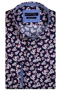 Giordano Kennedy Flower Fantasy Overhemd Rood