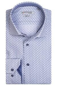 Giordano Maggiore Cutaway Half Circle Overhemd Licht Blauw