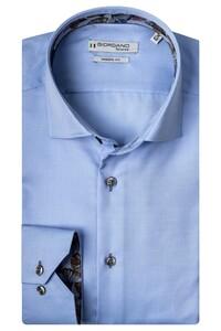 Giordano Maggiore Cutaway Luxury Fine Twill Overhemd Licht Blauw