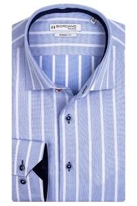 Giordano Maggiore Cutaway Striped Mini Fantasy Pattern Overhemd Licht Blauw