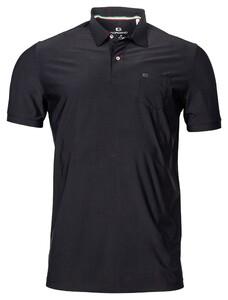 Giordano Pisa Tech Fabric Dynamic Flex Poloshirt Black