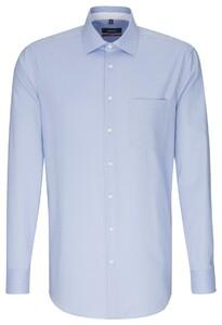 Seidensticker Business Kent Sleeve 7 Blauw